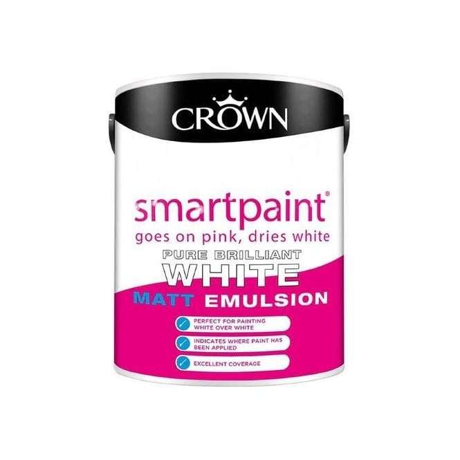 Crown-Smartpaint-Matt-Emulsion-Brilliant-White-5-Litre