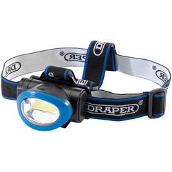 Draper-Cob-LED-Head-Lamp-3w-Batteries-Incl