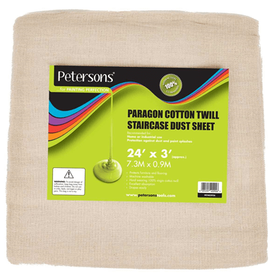 Petersons-Paragon-Cotton-Twill-Staircase-Dust-Sheet-24-x-3ft