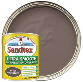 Sandtex-Ultra-Smooth-Masonry-Paint-Bitter-Chocolate