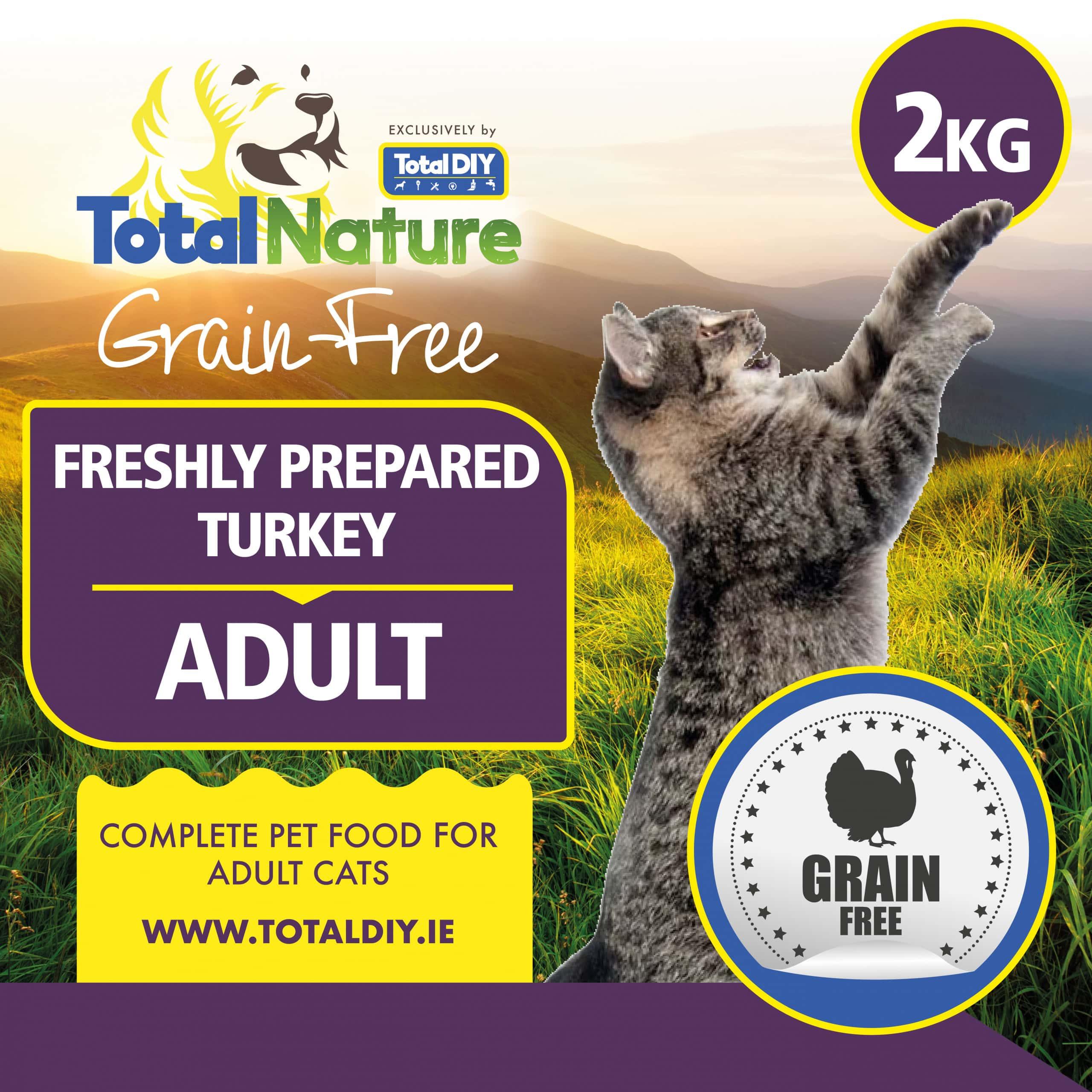 Total-Nature-Grainfree-Adult-Cat-Fresh-Turkey-2kg