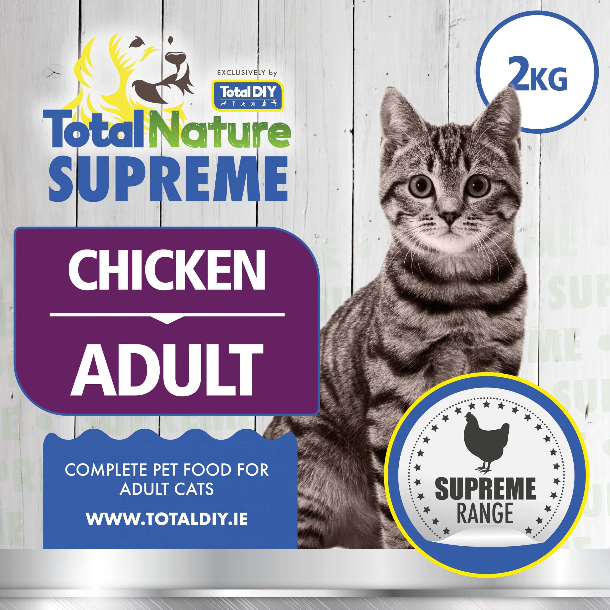 Total-Nature-Supreme-Adult-Cat-Chicken-2kg