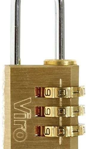 Viro-Combination-Brass-Padlock-20mm